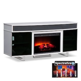 Pacer 64 Traditional Fireplace Tv Stand With Sound Bar White Fireplace Tv Stand Fireplace Entertainment Fireplace Tv Tv stand with fireplace and soundbar