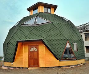 Dom geodesic
