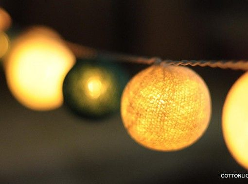 Green Lantern String Lights : 1000+ images about bedroom and home decoration light on Pinterest Hanging lights, Cotton ball ...