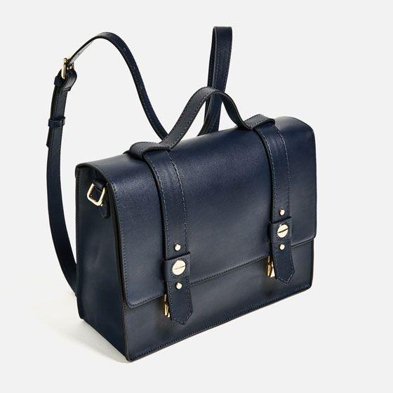 Image 3 of CONVERTIBLE CROSSBODY BAG from Zara