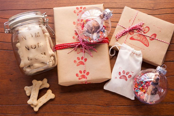 Brit Morin has some adorable, easy-to-make holiday crafts for your pets or your pet-loving friends.