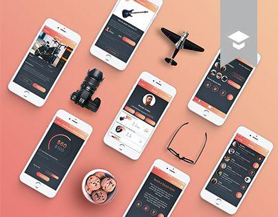 다음 @Behance 프로젝트 확인: \u201cGift App Redesign\u201d https://www.behance.net/gallery/47931921/Gift-App-Redesign