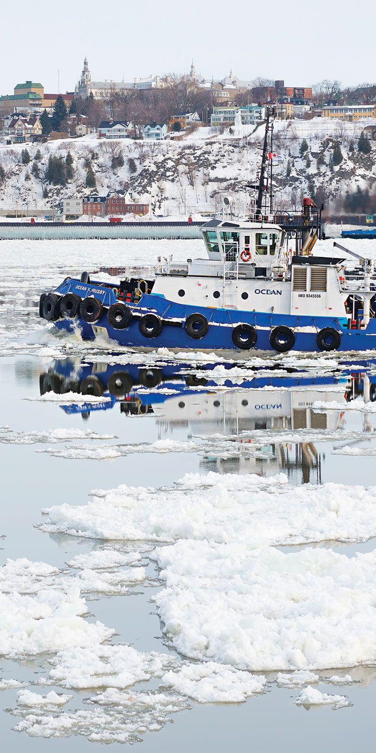 Barge in Quebec - @laurenepbath on IG