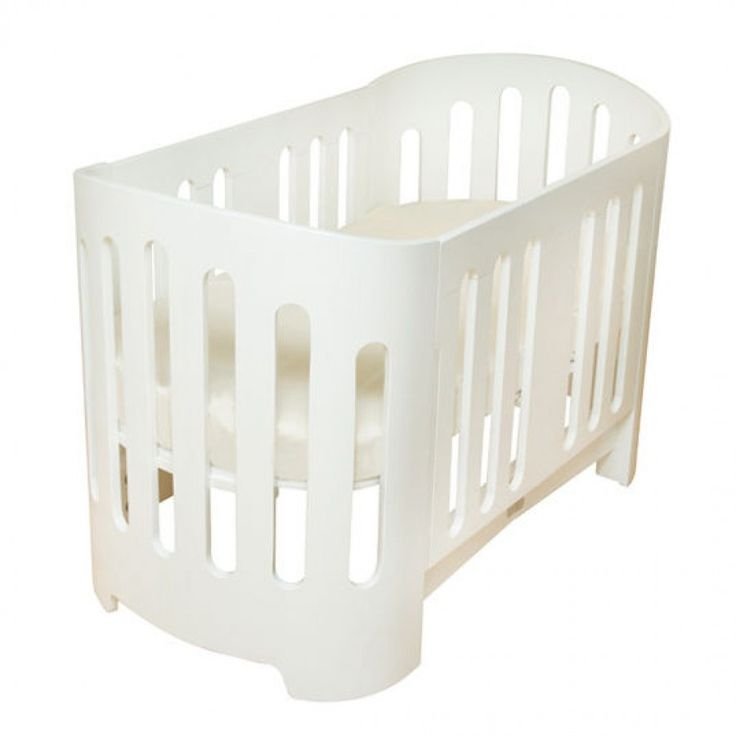 bloom Luxo Sleep Crib in White - Sleep Baby Bed Series