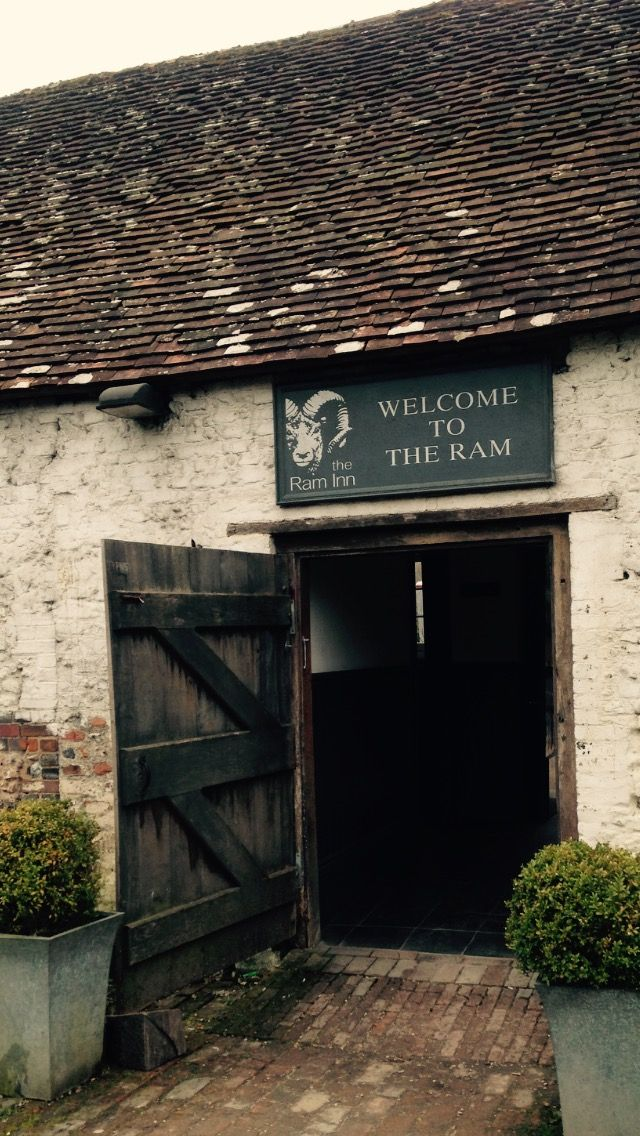 The Ram Inn in Firle was the set of our photoshoot!