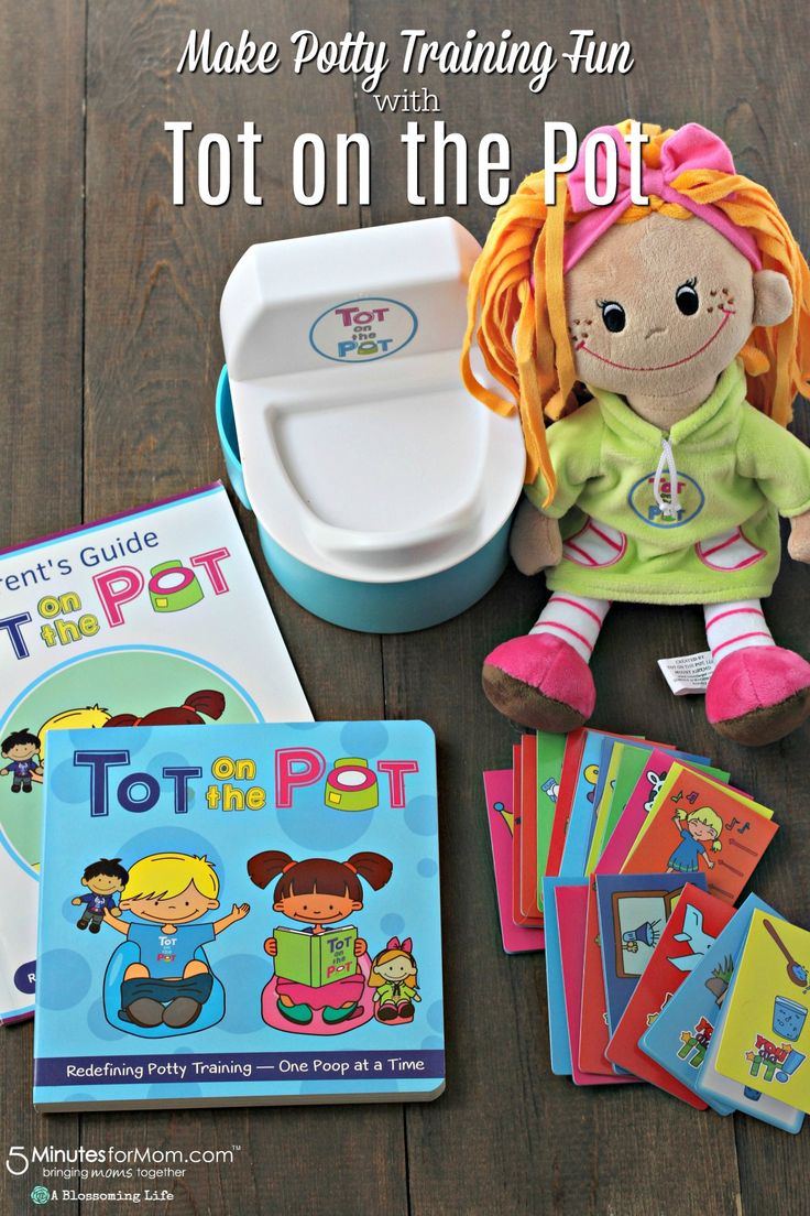 Make Potty Training Fun With Tot on the Pot #pottytraining #parenting