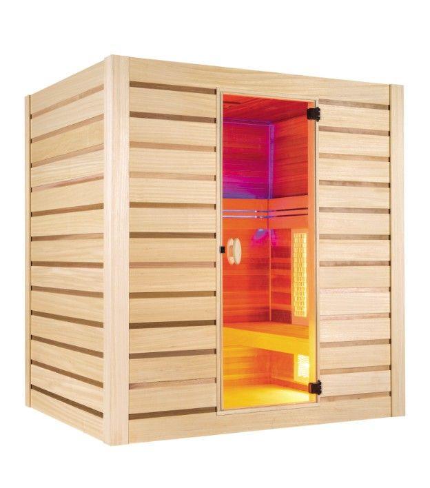 Sauna Infrarouge Et Vapeur HYBRID COMBI 4 Places Profitez de notre prix exceptionnel de 3259€ sur lekingstore.com Contactez nous au 01.43.75.15.90