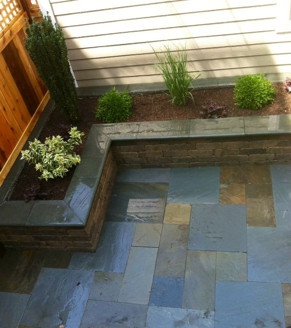 best 20 bluestone patio ideas on pinterest slate patio outdoor patio flooring ideas and patio tiles - Bluestone Patio Ideas