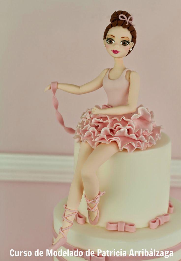 Ballerina cake / Tarta bailarina