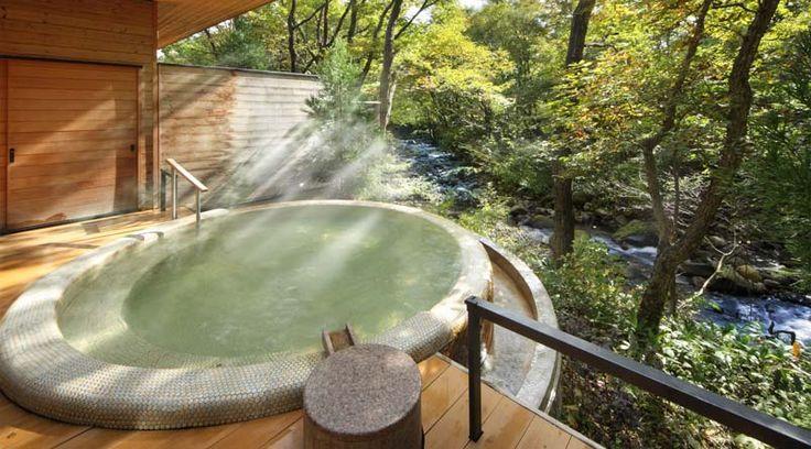 渓流露天風呂「川の湯 まる」