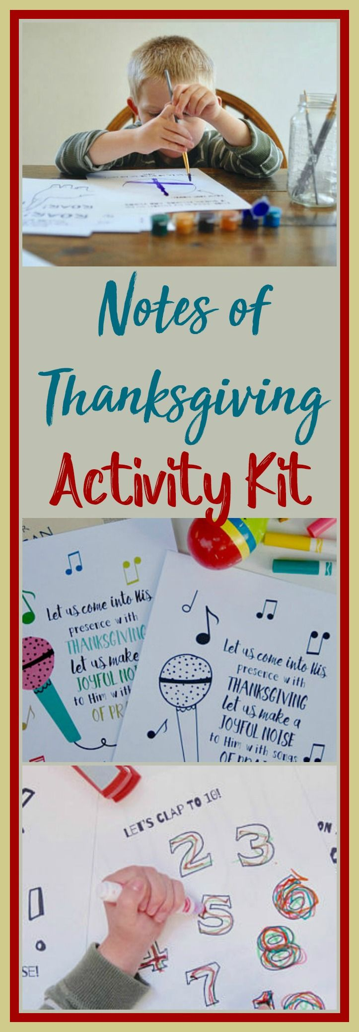 """Thank You God - My Book of Praise! Notes of Thanksgiving Activity Kit for Kids 