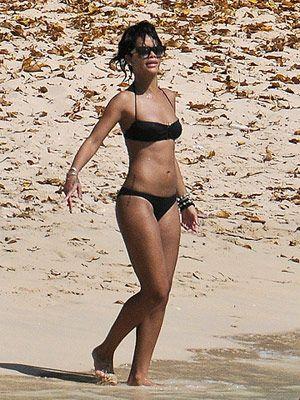 Rihanna's gym workout playlist.