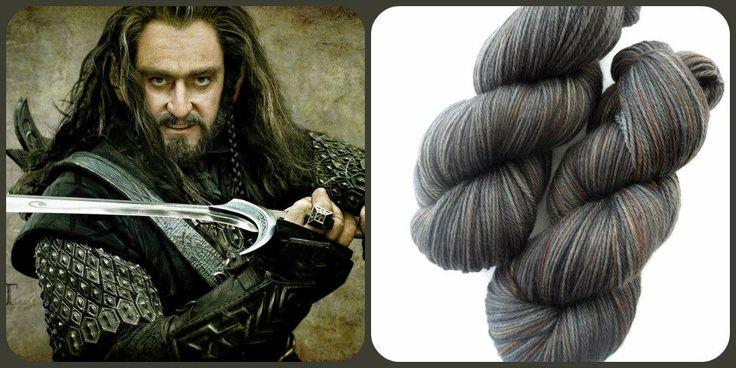 Thorin Oakensheild - The Hobbit   Red Riding Hood Yarns