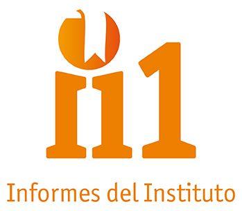 Diseño del logotipo de la nueva colección Informes del Instituto, para el Instituto Radio Televisión Española (RTVE).
