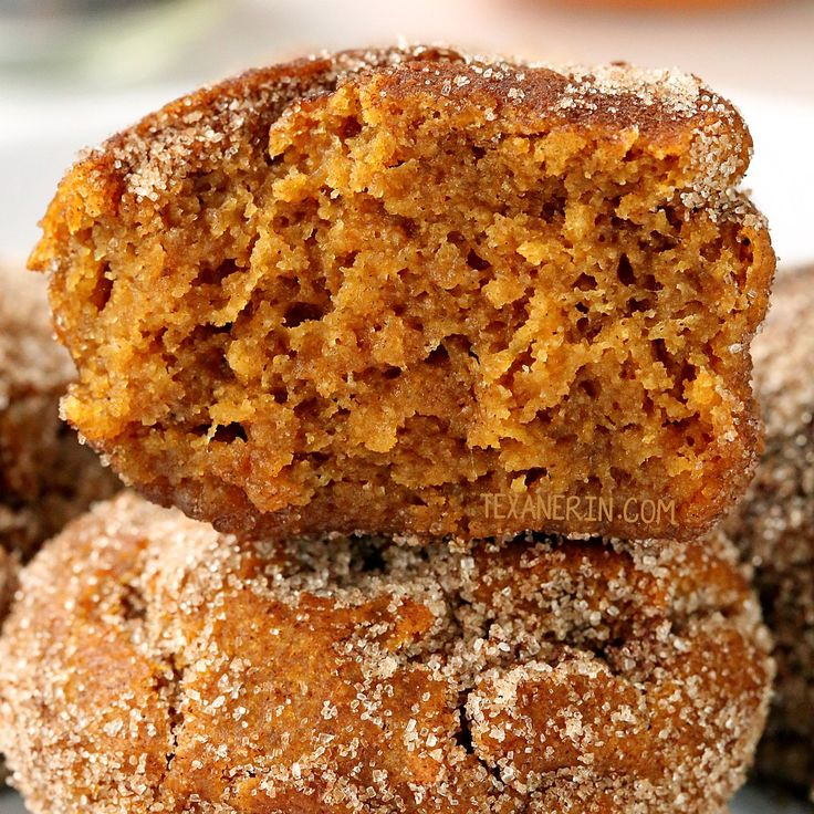 These vegan pumpkin muffins can be made with gluten-free, whole wheat or all-purpose flour. Sweetened with maple syrup and covered in cinnamon sugar!