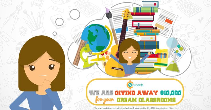 Help me win my dream classroom! Vote for me every day until May 6 at midnight. #dreamclassroom #teacherappreciation