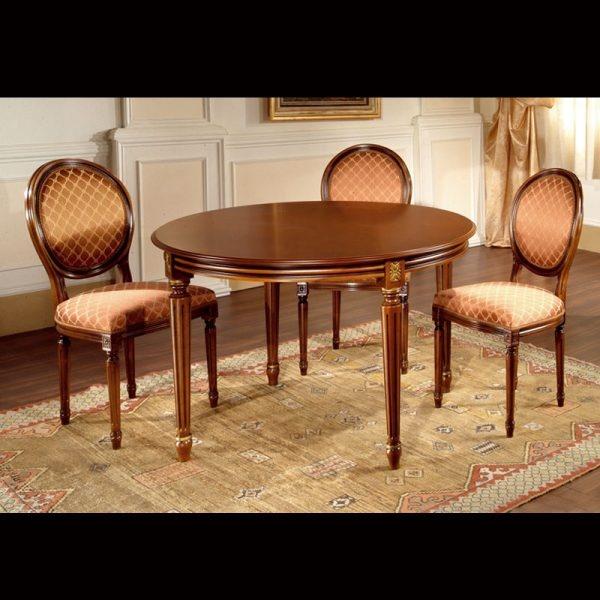 Stół okrągły Ludwik XVI