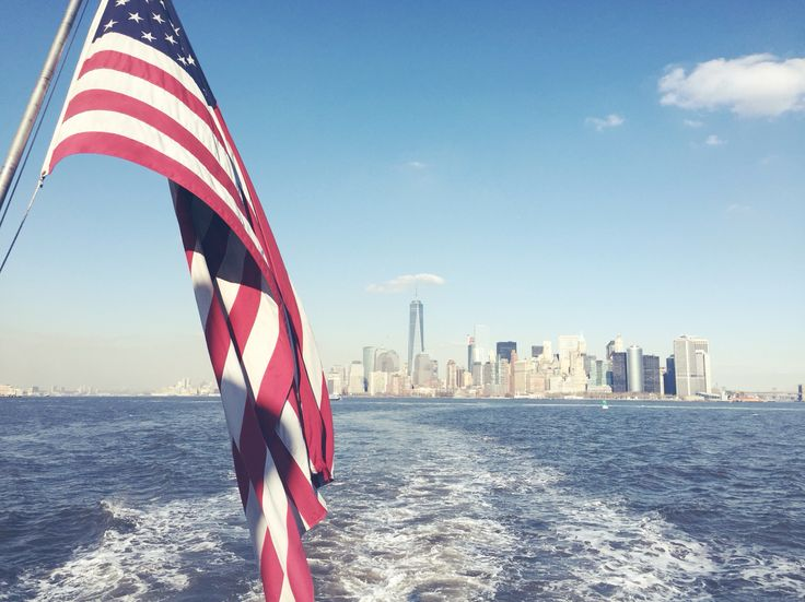 New york city view from the ferry // #beautiful #nyc