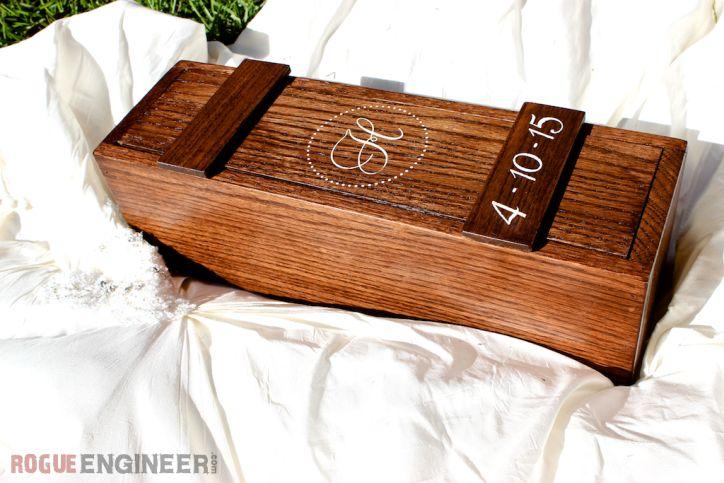DIY Wedding Wine Box Plans