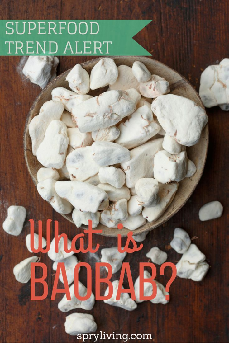 What the heck is baobab? We're taking a look at this emerging superfood and its benefits. | spryliving.com