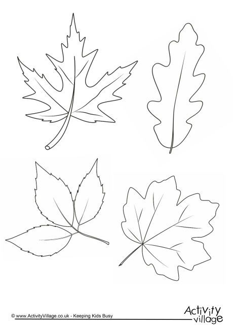 activity village coloring pages autumn - photo#13