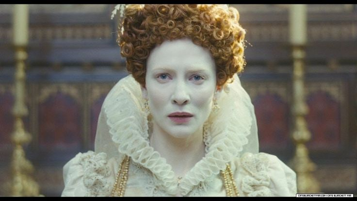 Elizabeth I as portrayed in Elizabeth #ruler #archetype #brandpersonality