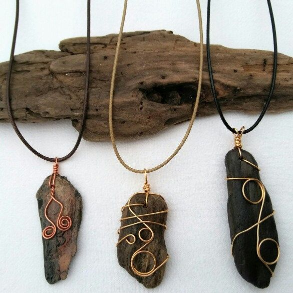 My newest nature inspiration is driftwood I've collected from Lake Erie. It makes beautiful pendants!  You can see all my newest driftwood pendants in my shop! The perfect gift for any occasion!