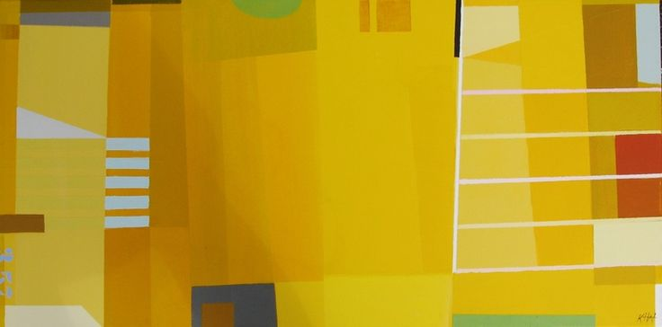 "Saatchi Art Artist: Karin Hay White; Acrylic 2013 Painting """"Between the Lines"""""