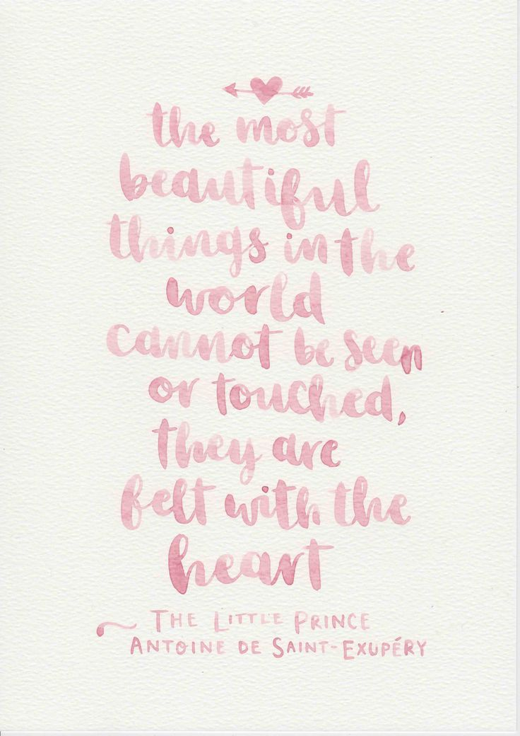 The Little Prince Quote, Girls Nursery Decor, Baby Girl Gift, Pink Nursery Wall Art, Girls Room Decor, Pink Kids Room, Watercolor Painting by violetandalfie on Etsy