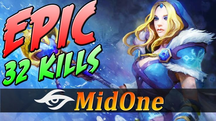 EPIC Crystal Maiden Gameplay by MidOne | CM Fullgame