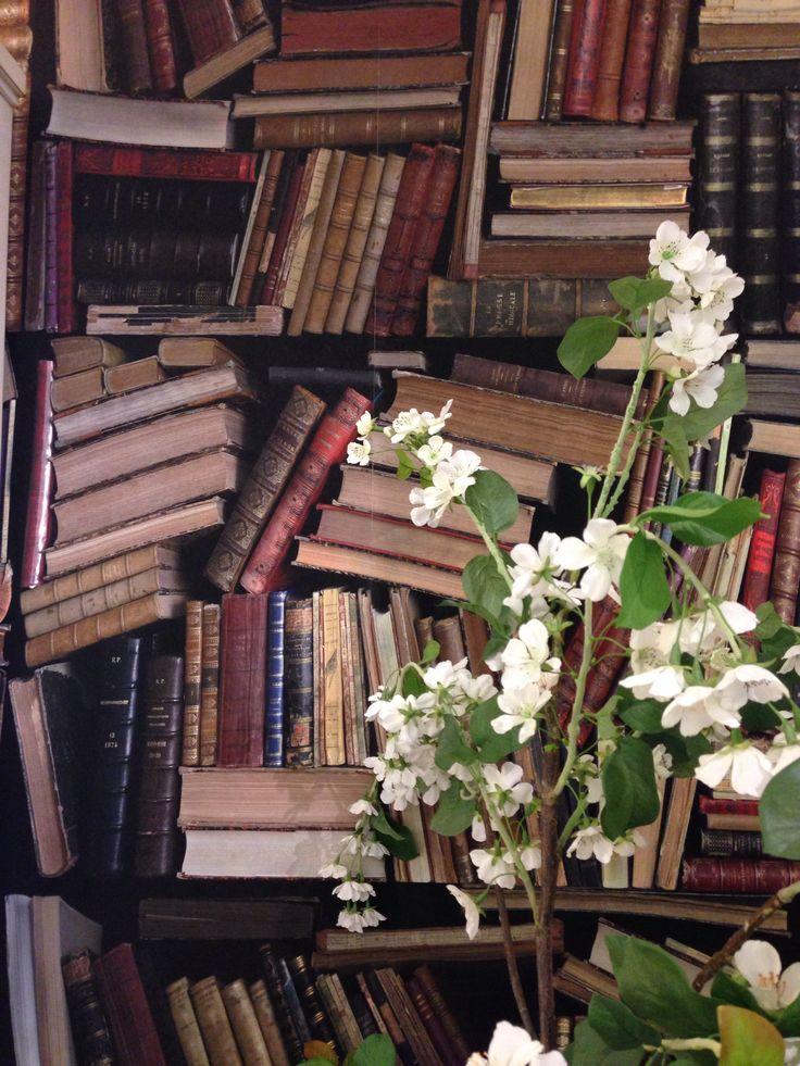 Carta da parati #Bibliothèque