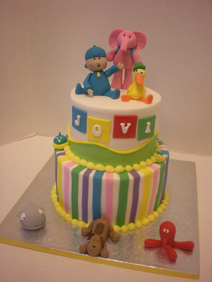 Pocoyo Cake made by Fiesta Cakes, Columbus GA