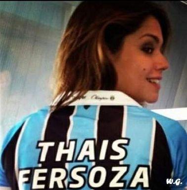 Thais Fersoza (atriz / Grêmio)