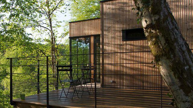 Une cabane de 40 m2 tout confort
