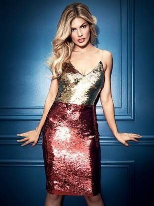 Ariane Sequin Dress   GUESS by Marciano