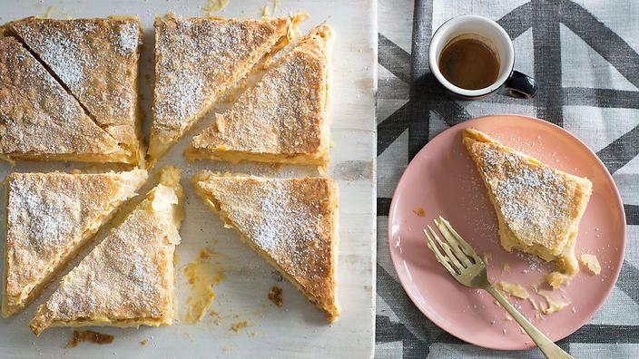 Vanilla slice | Dessert recipes | SBS Food