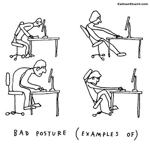 Benefits Of a Good Posture (And 13 Tips To Get One) ~ There are 5 key benefits from maintaining a good posture: Facilitates breathing; Increases concentration and thinking ability; Improve your image; Feel even better about yourself; Avoid health complications. A good posture means maintaining the two natural curves at your back – (1) the concave curve from base of your head to your shoulders and (2) the concave curve from your upper back to the base of your spine. It's like the shape of 2…