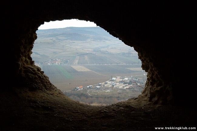 Cavity near Cadiseni, Harghita, Transylvania