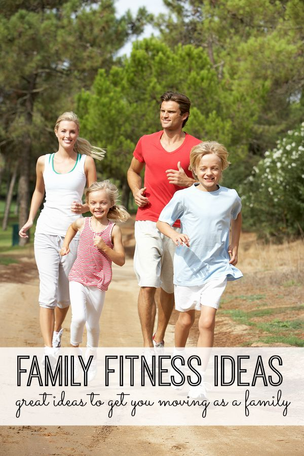 We're hoping these family fitness ideas will help you get moving as a family, and make healthy living a habit. You can change your family's life with a little exercise - and you don't even have to tell them it's a workout. Great tips for making your home one that embraces family fitness.