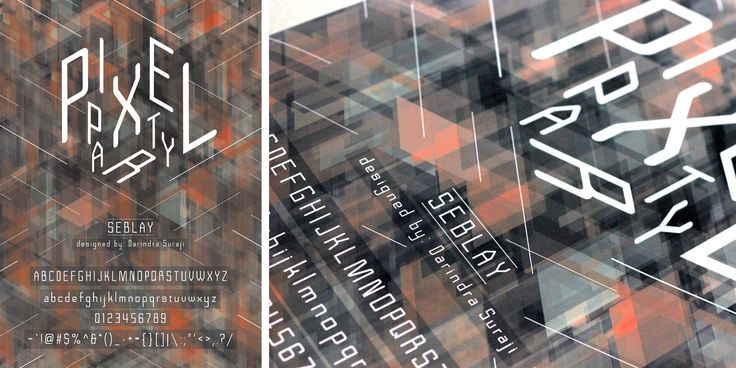 Font Design Poster - Darindra S - DKV UMN
