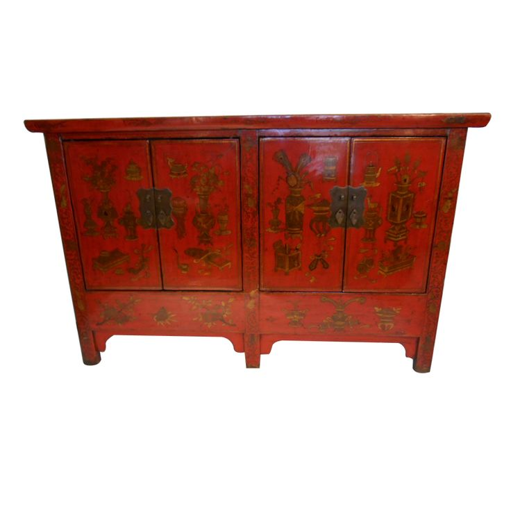 1000 images about oriental lacquer furniture on pinterest for Hand painted oriental furniture