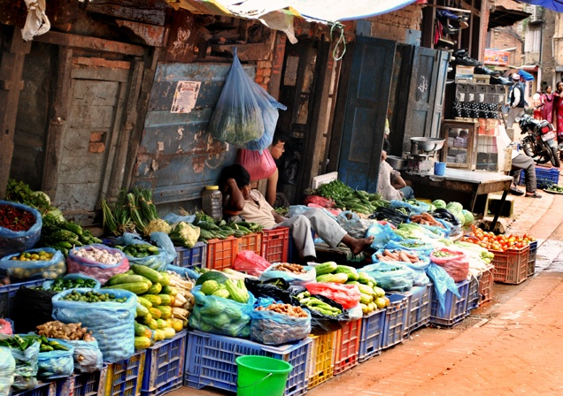 Bhaktapur. Nepal