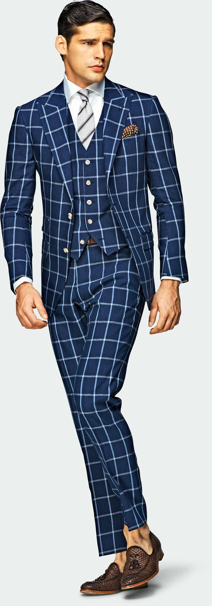 Pajamas or a Suit? Either way pretty nifty.