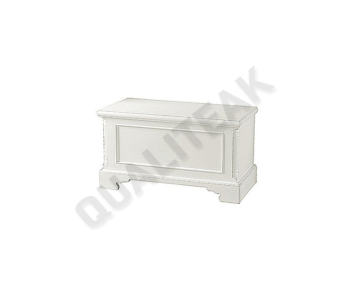 Please contacts us for asking detail about Georgian White Rug Box