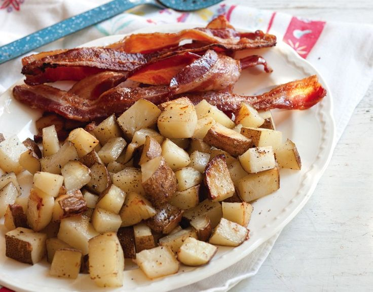 Oven-Baked Bacon & Potatoes from SouthernPlate  This was very, very good. Easy way to have breakfast for supper!