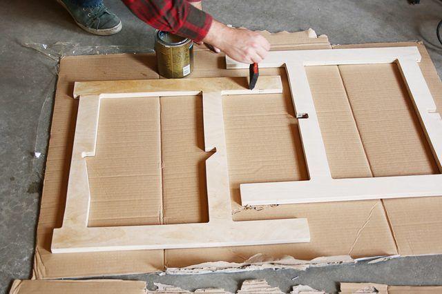 カットした板を組み立てるだけの折りたたみ可能なコンパクトテーブルの作り方 Diy Space Saving Diy Space Space Saving Table
