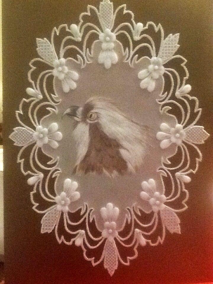 Osprey from parchment craft magazine