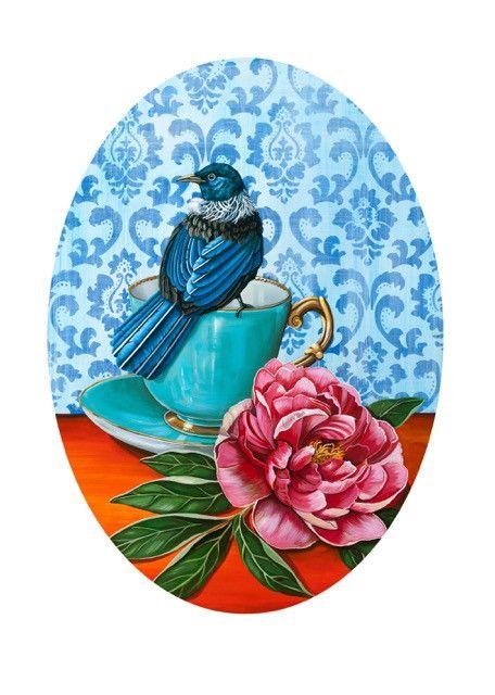 Angie Dennis - Nest Framed Print
