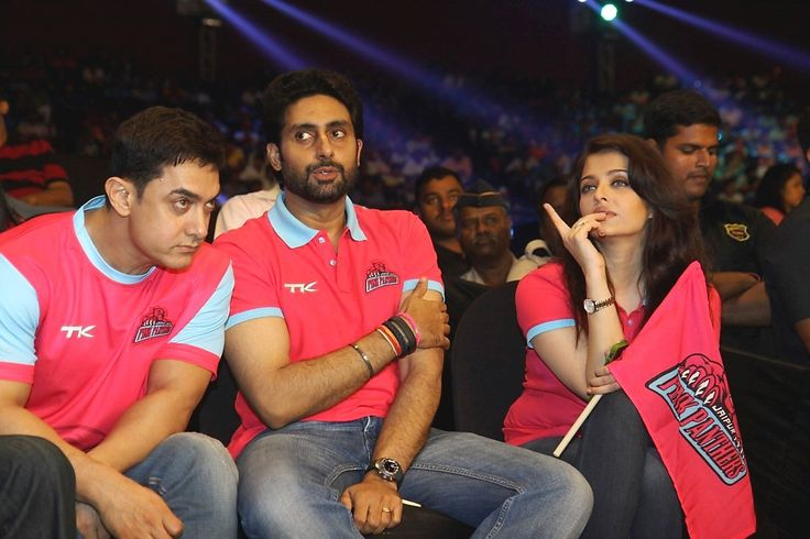 pro #kabaddi #league #celebrities #team, #amitabhbacchan #celebrities #match #bollywood #abhishekbacchan, #AishwaryaRaiBachchan