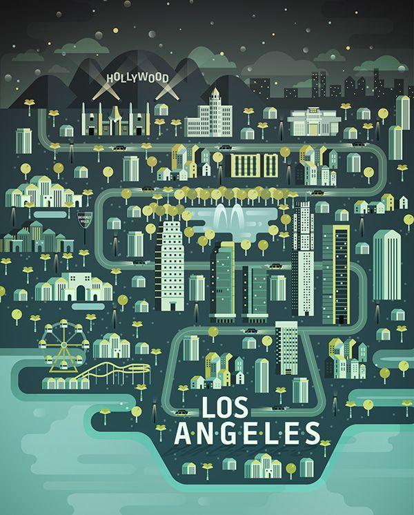Los Angeles by Aldo Crusher